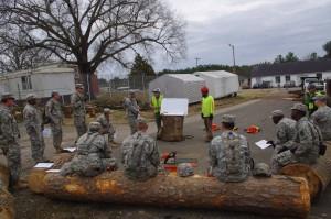 Arbormax tree service trains the national guard